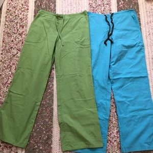 Other - 2 pairs of Small scrub pants